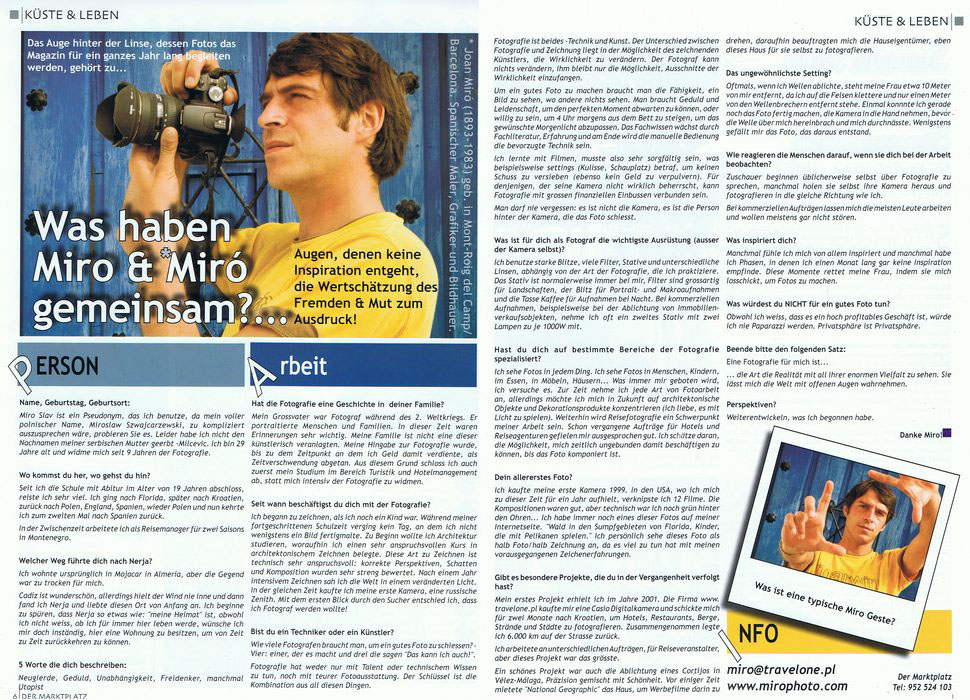 MARKTPLATZ INTERVIEW by .